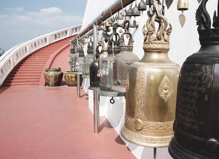 Bangkok Wat Saket MyCosmoSoul Blog Golden Mountain