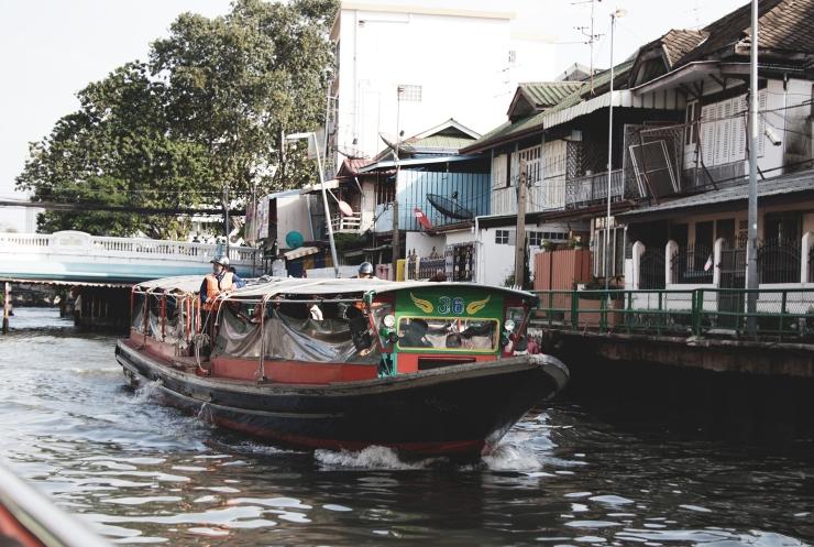 Bangkok canal boat ride  Mycosmosoul